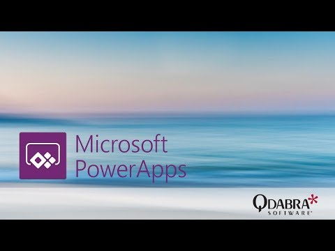 PowerApps – Modify a Generated App to Support Parent/Child Relationship: Qdabra Webinar 8/31/2017