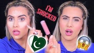 FULL FACE USING PAKISTANI MAKEUP BRANDS!!