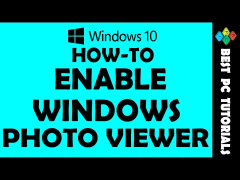 Windows 10- Open Images in Photo Viewer App
