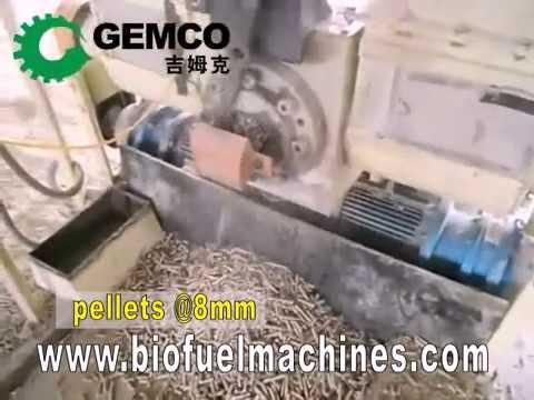 biomass stamping briquette maker
