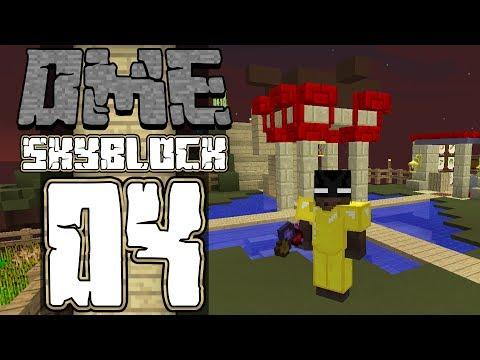 Dansk Minecraft :: Modded Skyblock :: Rubber saplings og witch water! :: EP04