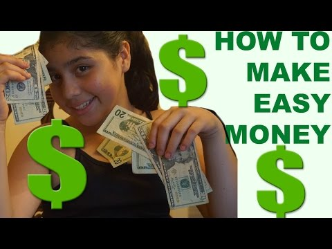 HOW TO MAKE EASY MONEY(5 TIPS)