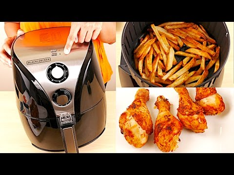 Black+Decker HF110SBD 2-Liter Oil Free Air Fryer Review