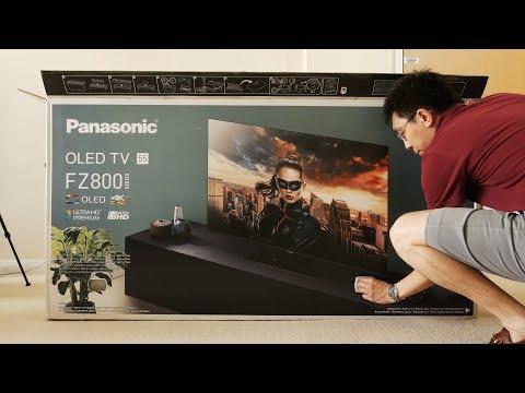 Panasonic FZ802/ FZ800 Unboxing + Picture Settings