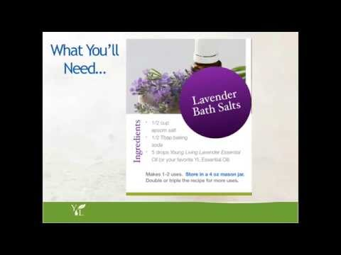 Virtual Make and Take Essential Oils Party-Lavender Bath Salts (Part 8 of 12)