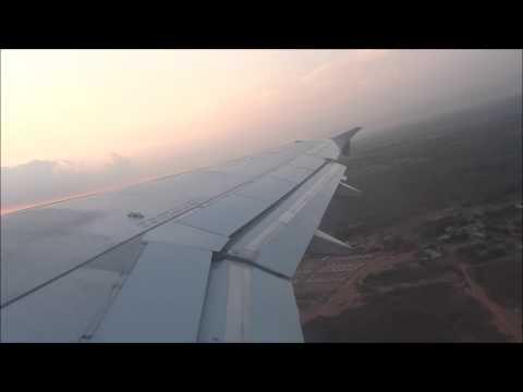 Stunning Sunrise Departure! Aruba Airlines A320 MAR-AUA Startup, Takeoff and Climb