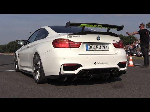 700HP BMW M4 w/ TTE680 Turbocharger - BRUTAL Sounds & Accelerations!