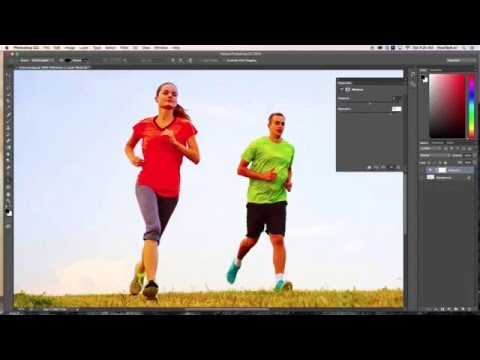 How to Use Color Enhancing in Photoshop (Saturation versus Vibrance)