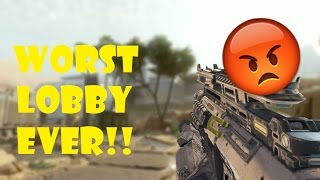 WORST LOBBY EVER!!! I Call of Duty: Black Ops 3