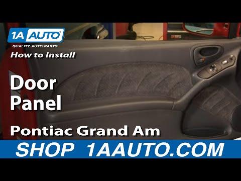 How To Install Replace Door Panel Pontiac Grand Am 99-06 1AAuto.com