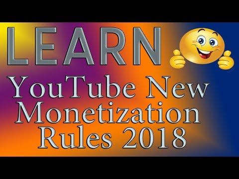 YouTube New Monetization Rules 2018 and How To GET MORE VIEWS FAST