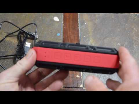 Gear Review: Bluetooth Waterproof Speaker