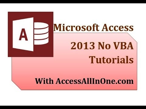 Access 2013 56 - Continuous Forms 2 - DateAdd Function