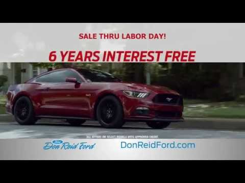 Don Reid Ford's Labor Day Sales Event