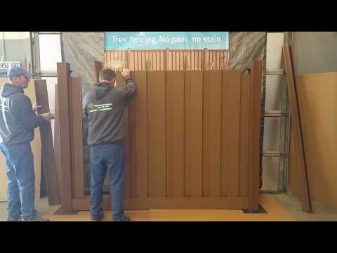 How To Assemble a Trex Seclusions Fence