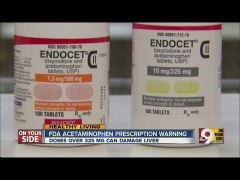 Watch acetaminophen in prescription drugs