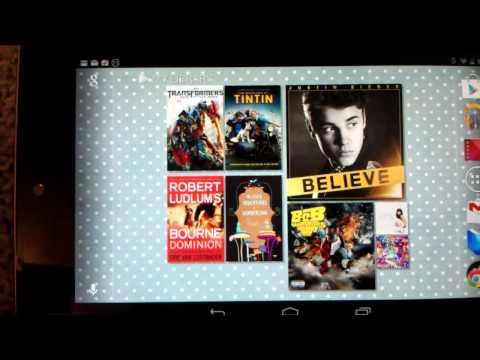 How to Auto Rotate Google Nexus 7 Home Screen