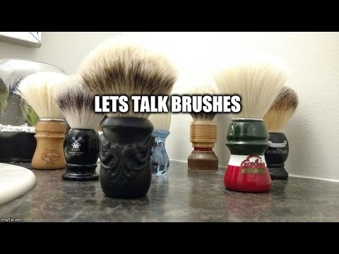 How to Wet Shave: Tip #2 - Picking a Brush