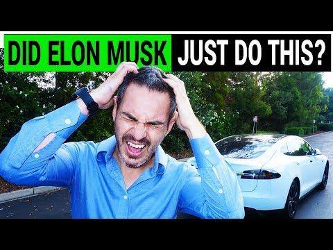 Elon Musk Gone Mad During Tesla's Q1 Earnings Call
