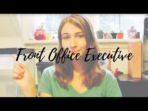 Front Office Executive Sample Resume | CV Format | Roles & Responsibilities | KRA