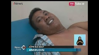 Mengejutkan!! Sopir Bus Maut Tanjakan Emen Sudah Tau Rem Blong - iNews Siang 12/01