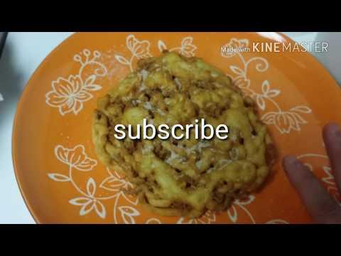 Funnel cakes receta facil y rapida