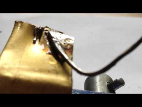 How to solder cuprum and aluminum wires