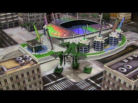 Etihad Stadium 3D Replica