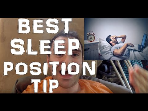 BEST Sleeping Position Tip To Prevent Pinched Nerves In Shoulders & Neck
