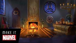 Make It Marvel: Marvel Fireside Heroes