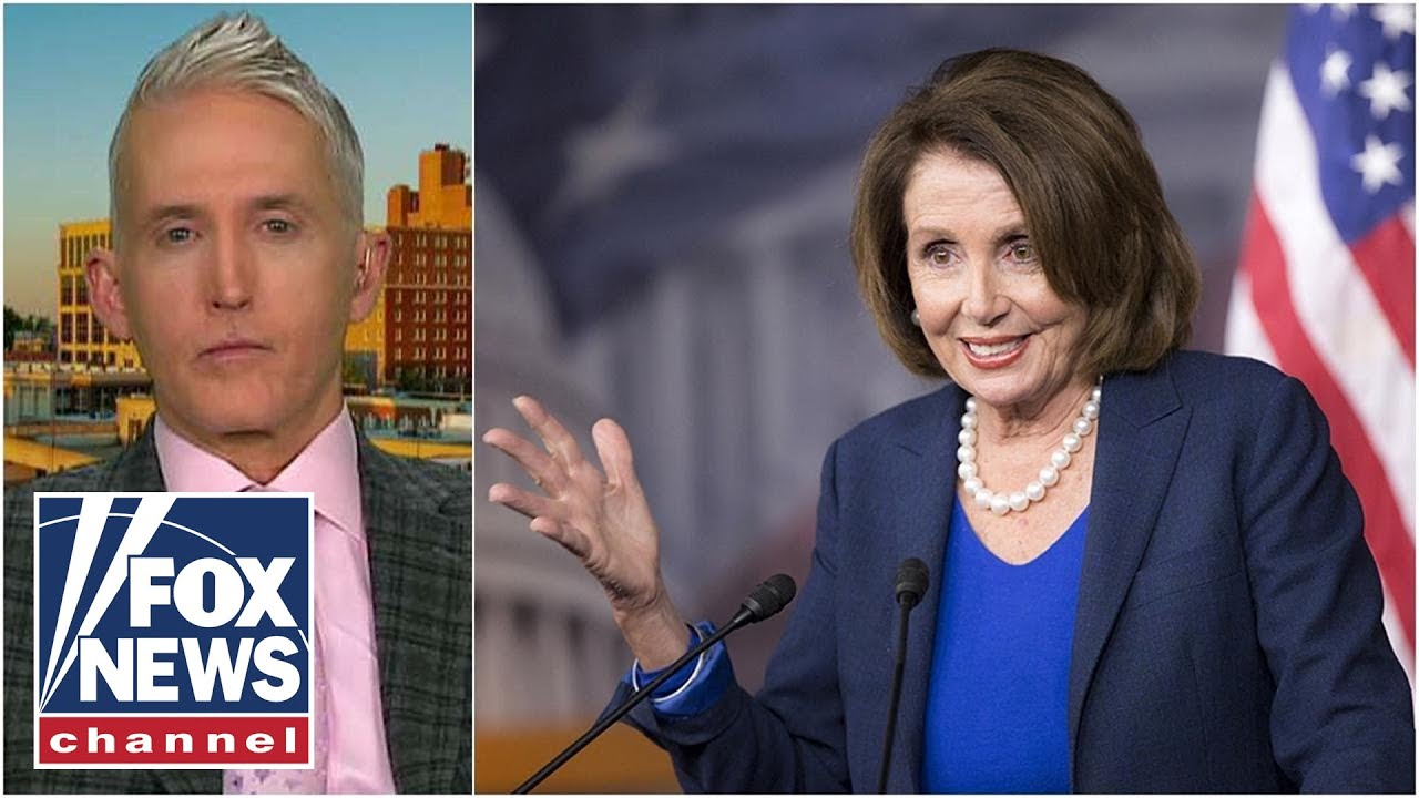 Trey Gowdy sounds off on Pelosi delaying Senate impeachment