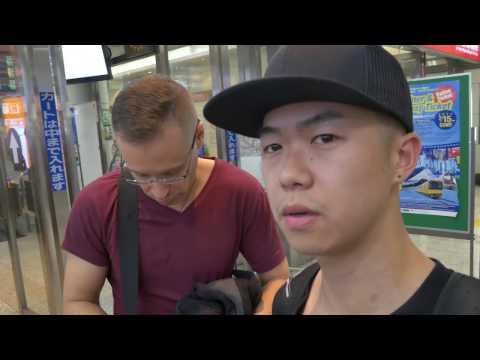 [Vlog] Japan Train Experience Getting on trains from Narita airport to Shinjuku!