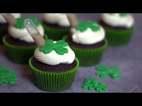Cupcakes St Patrick (Guinness/Bailey's) - William's Kitchen