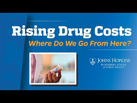 Rising Drug Costs: Where Do We Go From Here?