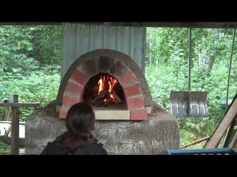Building a Cob Bake Oven w/ Earthway Experience
