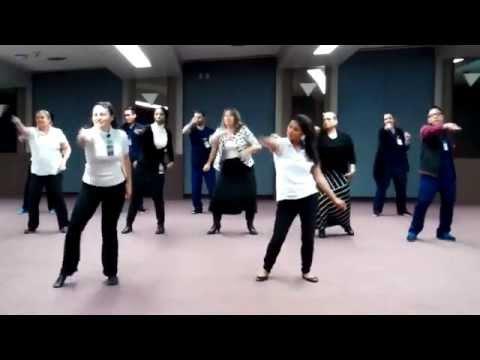 Dance/Movement Therapists Take #GimmeFive Challenge!