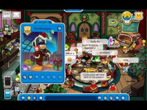 club penguin meeting rockhopper and igloo december 2013