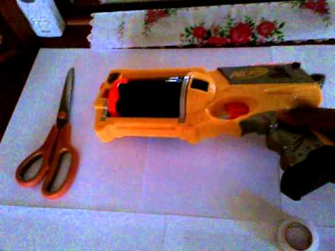 How to make a scope for a Nerf gun.