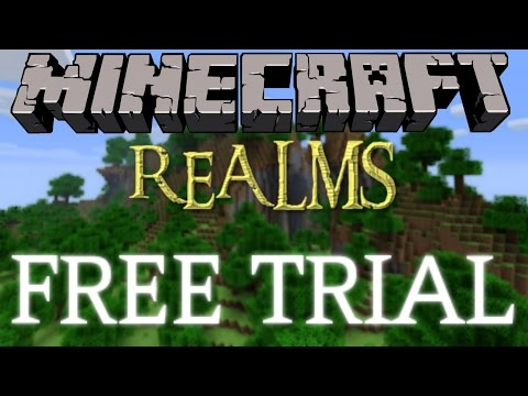 How To Get Minecraft Realms For Free (FREE TRIAL) [Minecraft Tutorial]