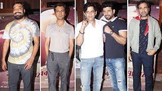 Nawazuddin Siddiqui, Anurag Kashyap Attend Mukkabaaz Screening Hosted By Vineet Kumar Singh