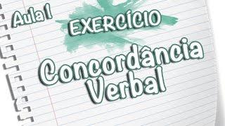 Exercícios - Concordância Verbal [Prof Noslen]