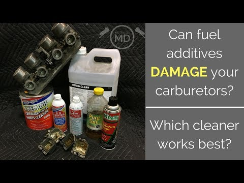 Carb Cleaners and Fuel Additives: What Works?