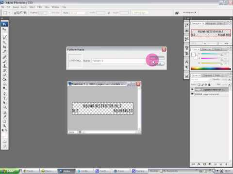 Watermarking Tutorial - Photoshop CS3