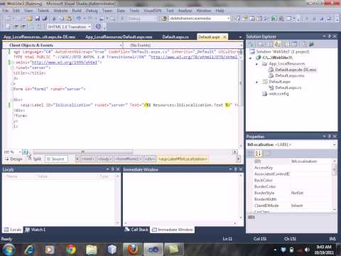 How To Implement Localization In ASP.net Part1 By Sir Yasir