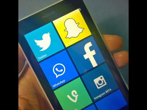 How to Get Snapchat on Windows Phone! [2016 MARCH]