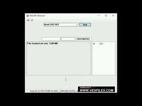 Vag DTC Remover tool v2.0 - Genuine free soft