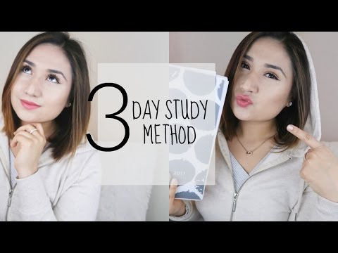 Easy & Speedy: 3 Day Study Method