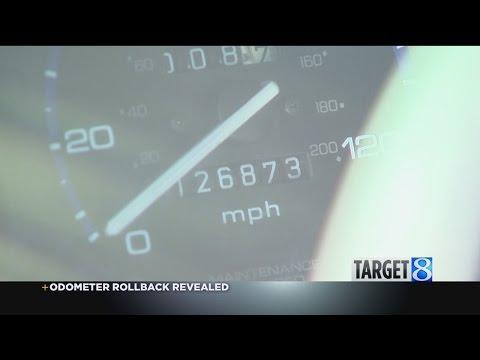 Target 8: Odometer rollback revealed
