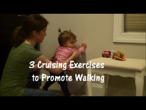 Cruising Exercises to Encourage Walking