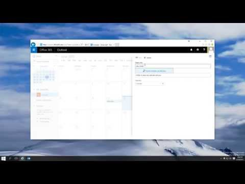 How to Share Your Calendar in Outlook (using the web app and Outlook 2013)